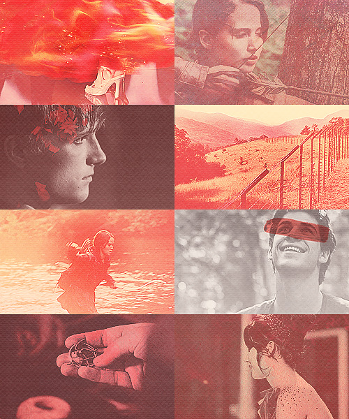 the hunger games | red