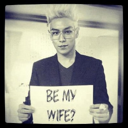 Yes , yes of course I'll be your wife :) .