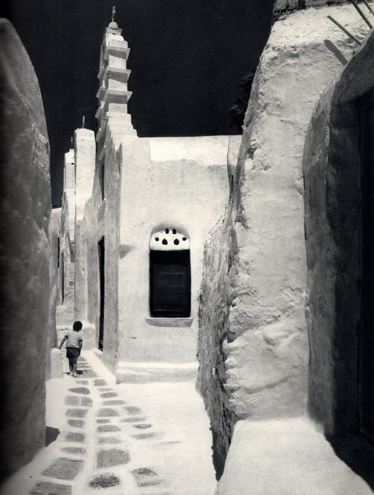 "From the GA book ""Aegean Sea"", 1973, photos of Mykonos by Yukio Futagawa"