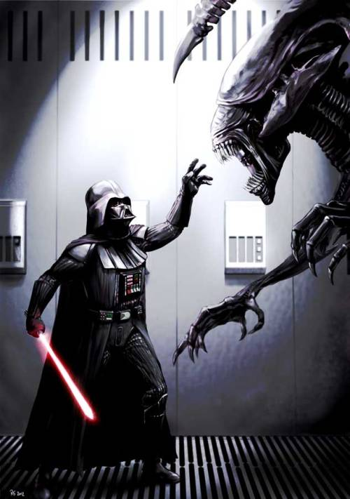 Darth Vader Vs. Alien ¿Quien Ganara?