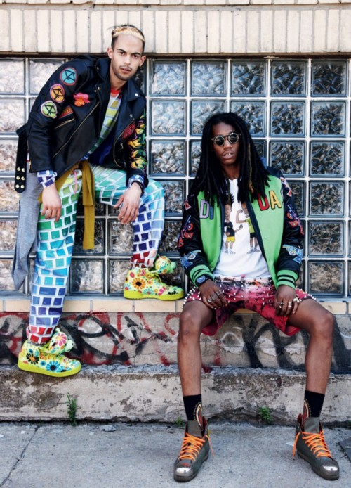 TYLER & GITOO @iD_magazine YOUTHFUL ISSUE  SHOT BY DAN MARTENSEN