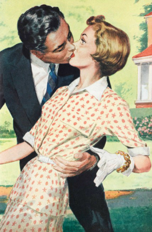 Surprise Smoochin' In Suburbia - 1954