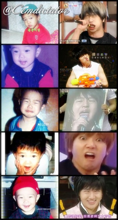 cemdictator:  Now and then Kim YoungWoon :))