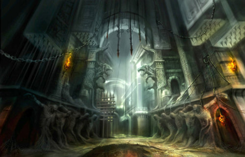 Ruin temple by ~derrickSong