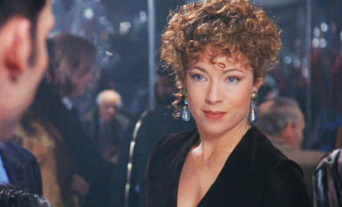 Alex Kingston in Croupier Nude