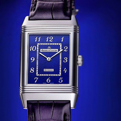 #JaegerLeCoultre #Grande #Reverso #Blue #Enamel #watch #watches #Tourneau #luxury #timepiece #time #JLC  (Taken with Instagram)