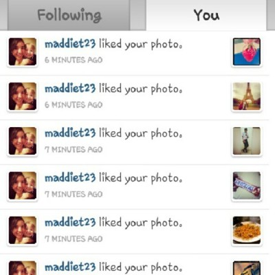 thank you @maddiet23.  (Taken with Instagram)