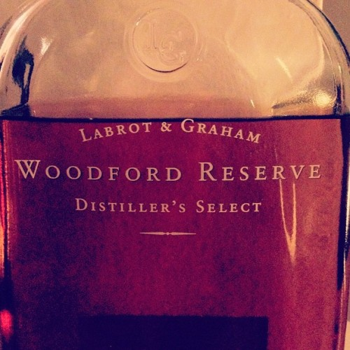 #thewhiskeychronicles #woodfordreserve #kentucky #bourbon #whiskey #smooth (Taken with Instagram)