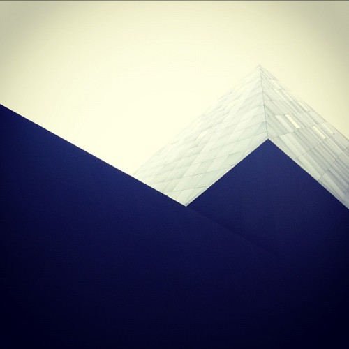 Looking angular today. (Taken with Instagram at Contemporary Jewish Museum of San Francisco)