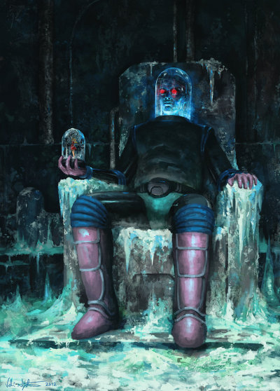 Mr. Freeze - by Veli Nyström