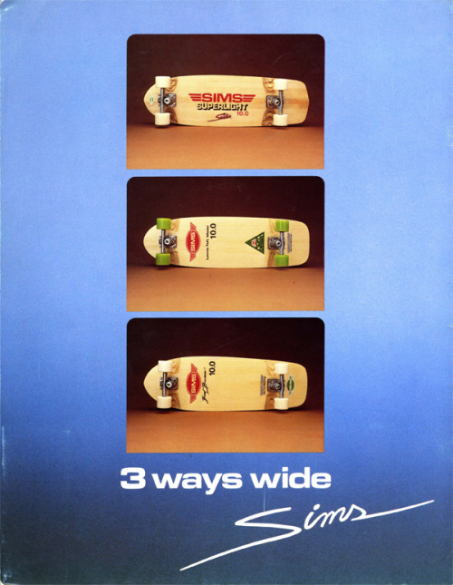 Throwback Thursday! Just scanned this bad boy in from a skate catalog. Any guesses on what year this is from?