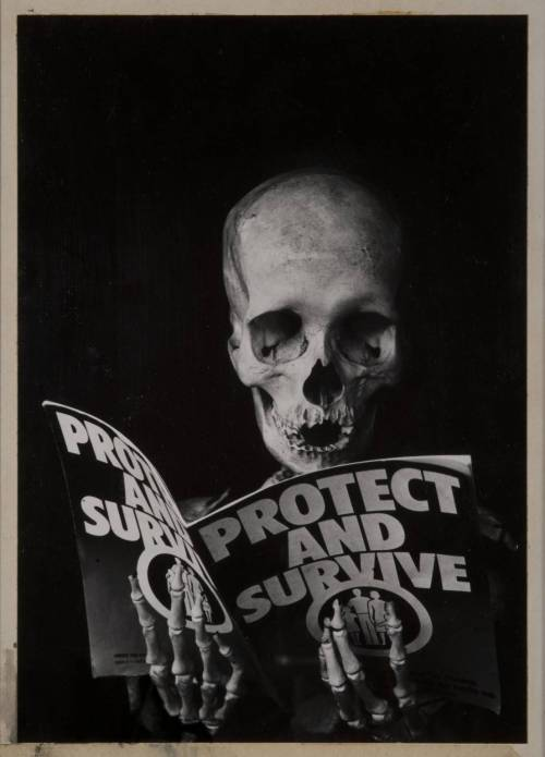 Peter Kennard Protest and Survive 1980 Photomontage 370 x 285 mm Tate