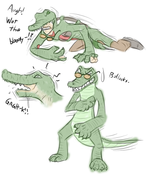 gruberv:  Sniper Croc-o-Style TF by ~Fighting -Wolf-Fist.
