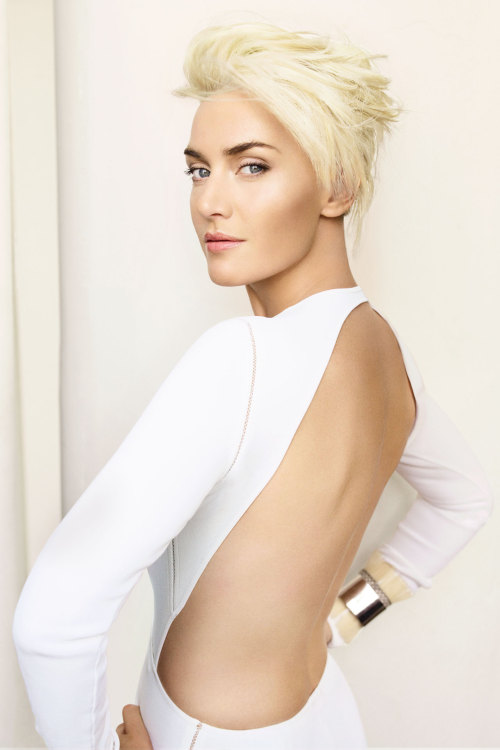 Kate Winslet shot by Mario Testino for the April 2011 issue.