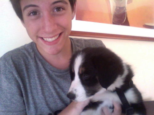 alecstasy:  so i got a dog today and her name is Sky and i love her