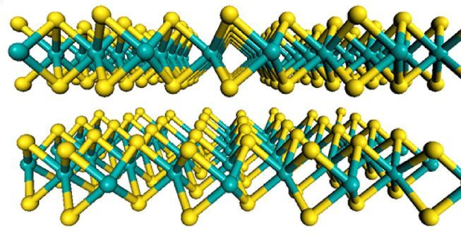 New wonder material replaces graphene for future electronic devices | KurzweilAI Entirely new kinds of devices —- entire walls of light, smart windows, eyeglass displays, complex electronic circuits —- from new 2D molybdenum disulfide: MIT researchers MIT researchers — who struggled for several years to build electronic circuits out of graphene with very limited results (except for radio-frequency applications) — have now succeeded in making a variety of electronic components from an amazing new material: a 2D version of molybdenum disulfide (MoS2). The MIT researchers say the material could help usher in radically new products, from whole walls that glow to clothing with embedded electronics to glasses with built-in display screens.