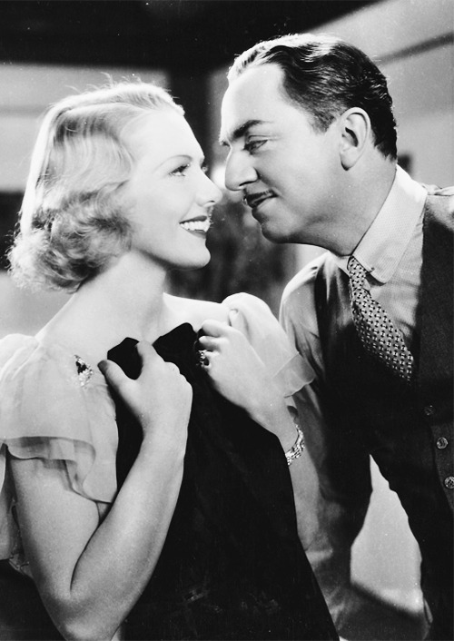 jeanarthur:  Jean Arthur and William Powell in The Ex-Mrs. Bradford (1936)