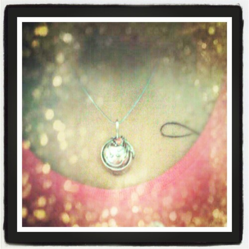 Yessss I have it!! Elena's/My necklace….lovin it <3 (Taken with Instagram)