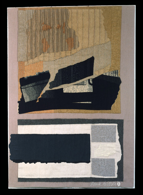 """Dusk In The Desert"", 1977  By: LOUISE NEVELSON…. HAPPY BIRTHDAY TODAY LOUISE!!!!… YOU'RE ONE OF MY BIGGEST INFLUENCES AS A SCULPTOR / ARTIST!!!!….THANK YOU….Here is one of her ""collage / mixed media"" pieces that she is not as well known for….enjoy…. :D"
