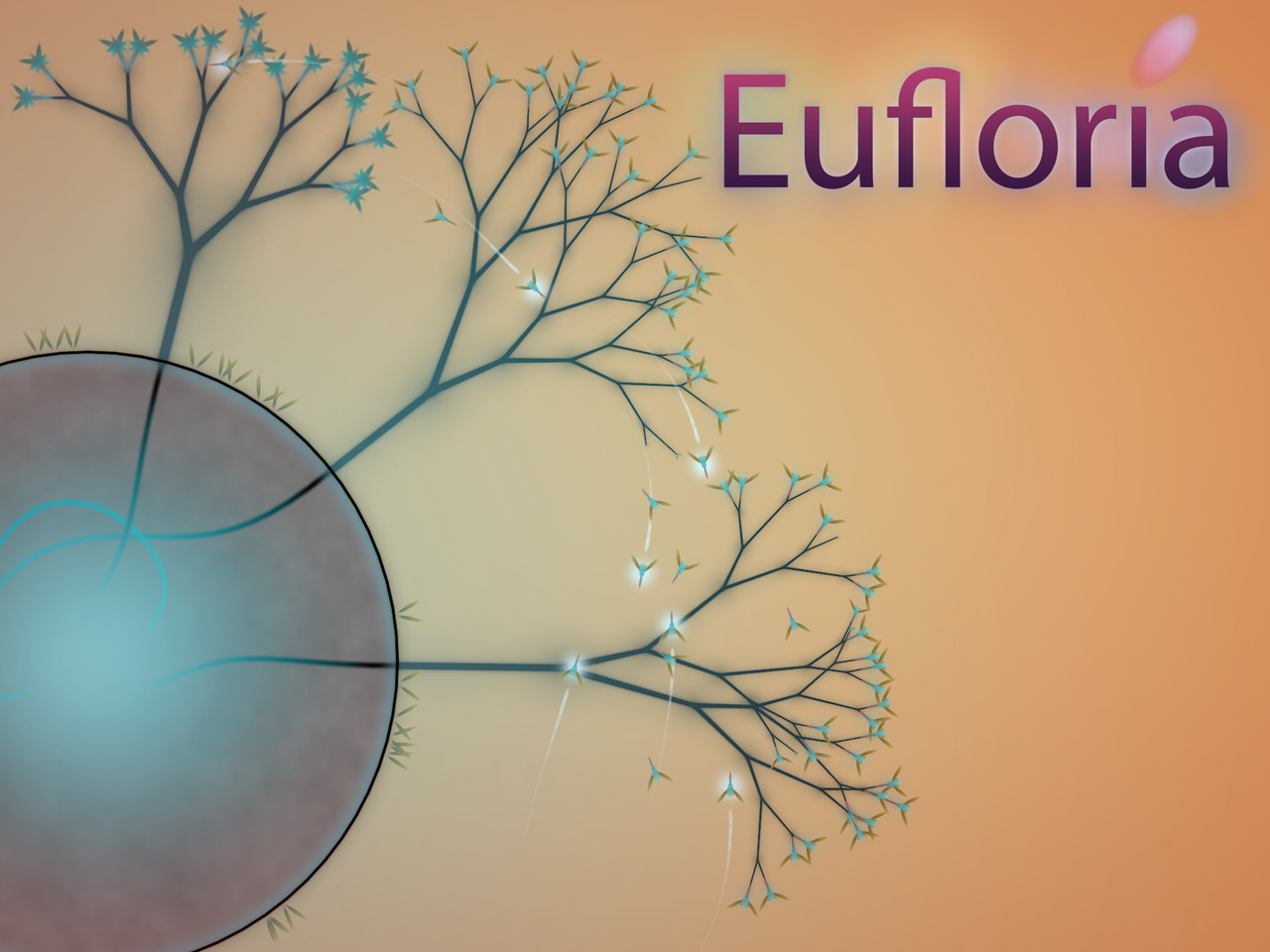 Eufloria for iPhone is out today. Even better, if you own Eufloria HD then it'll work on iPhone too!  iPad 3 owners also get Retina Display support while we've also added an automatic in-game session save to prevent games being abandoned part way through playing a long level. Putting this release together has been hard work. Adding save support meant a large number of changes and also exposed quite a few minor flaws so we're glad it's done. It's a tough life being a developer!