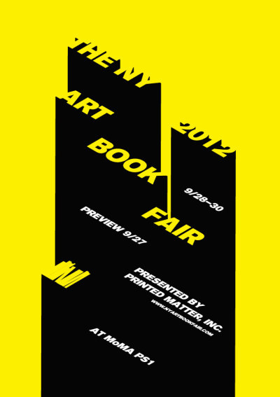 printeresting:  (via NY ART BOOK FAIR)-Looking forward to this!  yeeeeaaahhh!!