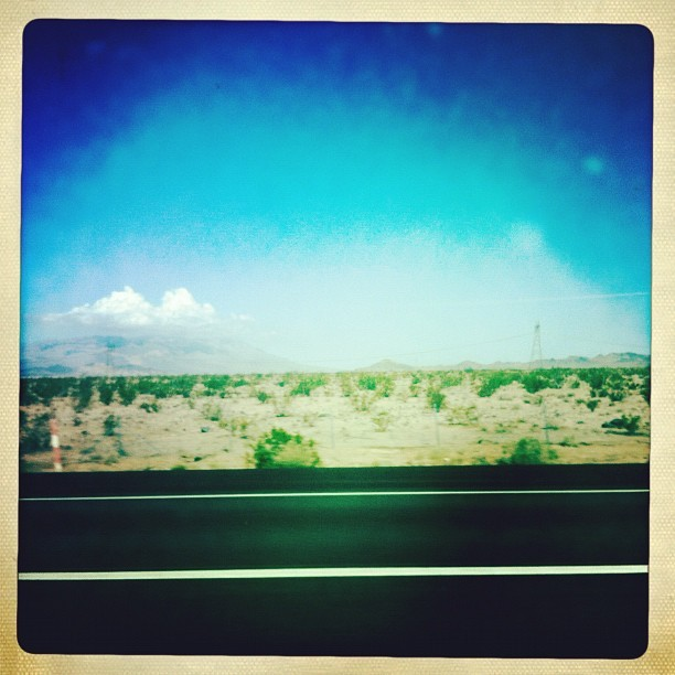 #vegas #desert #drive #sky #tsquad  (Taken with Instagram at Baker)