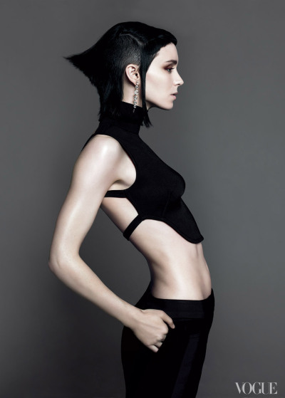 vogue:  Rooney Mara, photographed by Mert Alas and Marcus Piggott, Vogue, November 2011 Agents Provocateurs: A Look at Vogue's New Book The Editor's Eye  See the slideshow  …!!!