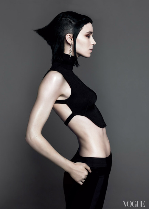 vogue:  Rooney Mara, photographed by Mert Alas and Marcus Piggott, Vogue, November 2011 Agents Provocateurs: A Look at Vogue's New Book The Editor's Eye See the slideshow