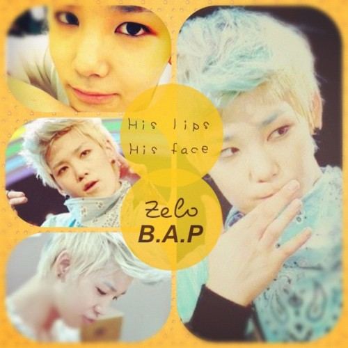 @zeloworld ❤ #zelo #handsome #maknae #bap #his #lips #face #choijunhong #rapper #best #blue  (Taken with Instagram)