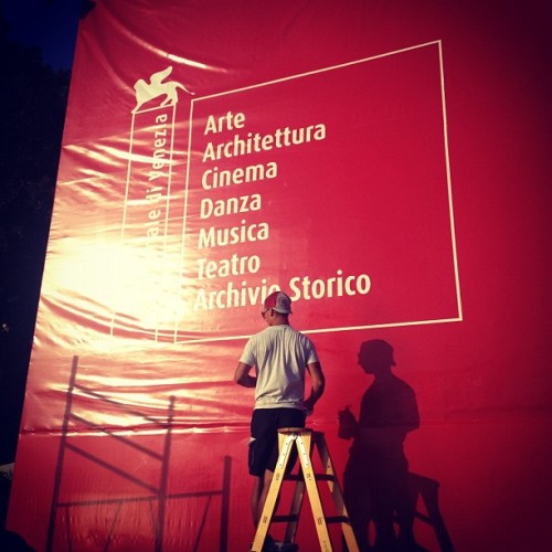 #labiennale almost ready! #architecture #archdaily #instagood #iphonesia (Taken with Instagram at Giardini @ La Biennale)