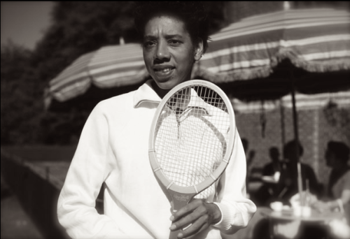 Today In History 'Althea Gibson, the first Black Wimbledon champion, was born in Silver, SC, on this date August 25, 1927.' (photo: Althea Gibson) - CARTER Magazine