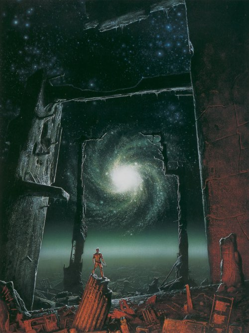 Trantorian Dream by Michael Whelan