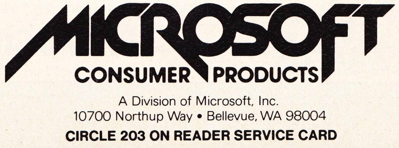 parislemon:  I sort of wish Microsoft had gone retro, back to this logo they used in the early 1980s. So do death metal fans.     It does seem to be a Surface kindred spirit. I wonder if the M slash is at a 22 degree angle.