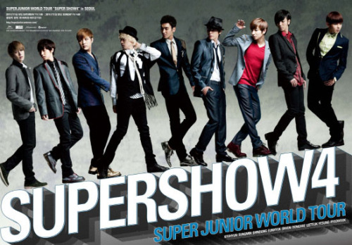 Super Junior Super Show 4 Photobook : $55.00191 pages + 10 post cards + Folded Poster : $57.00+ Unfolded Poster : $60.00
