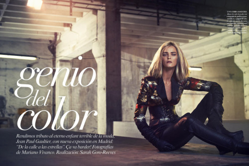 Carmen Kass for Vogue Mexico!!