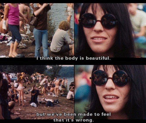 halfnasty:  Woodstock Festival, 1969. Stills from the documentary film Woodstock (1970).