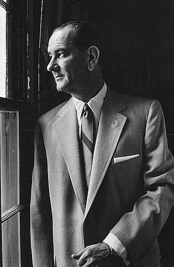 "August 27, 1908:  Birth of Lyndon B. Johnson On this day in 1908, former president Lyndon B. Johnson was born in Stonewall, Texas.  He succeeded to the presidency after the assassination of John F. Kennedy in 1963. As president, LBJ was responsible for designing the ""Great Society"" legislation that included laws upholding civil rights, public broadcasting, Medicare, and Medicaid.  It was his advocacy for American involvement in the Vietnam War that eventually cost him his popularity and the possibility of reelection. Watch this American Experience documentary about the legacy of the late president Lyndon B. Johnson.  Photo: Library of Congress"