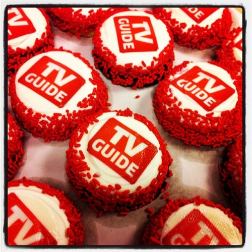 Thank you Carousel Cakes for the awesome cupcakes at our app launch party! Make sure you download the new iOS App here: http://bit.ly/tvguideiOS