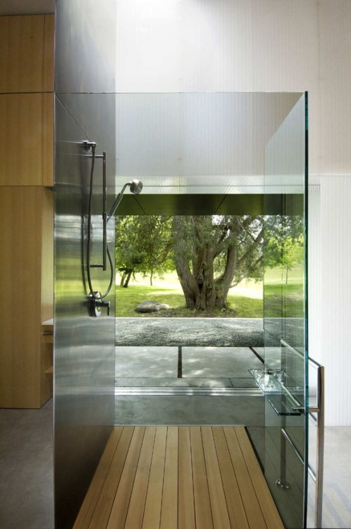 justthedesign:  Bathroom Linear House by Patkau Architects