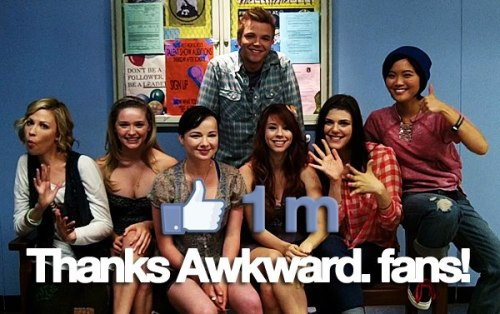 Awkward on Facebook