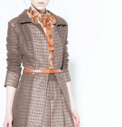 Condor Coat, Condor Skirt, Moray Moto Blouse, Burning Torch Fall 2012 Lookbook