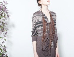 Nasca Dress, Quipu Necklace, Burning Torch Fall 2012 Lookbook