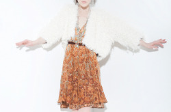 Moray Dress, Vicuna Jacket, Athena Necklace, Burning Torch Fall 2012 Lookbook