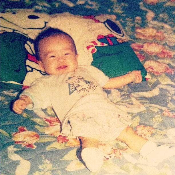 Baby. #throwbackthursday (Taken with Instagram)