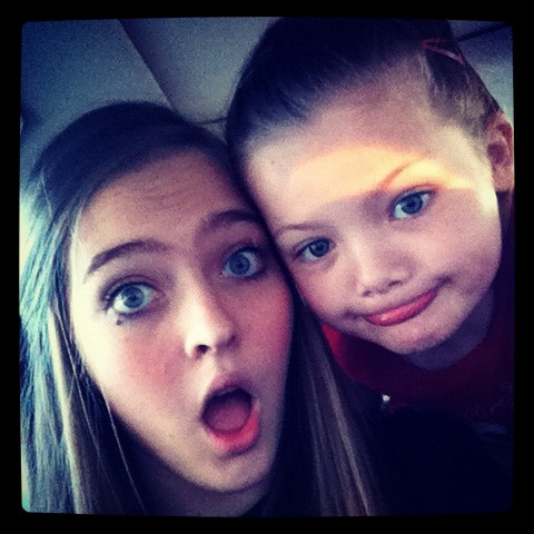 Got to love little sister :)