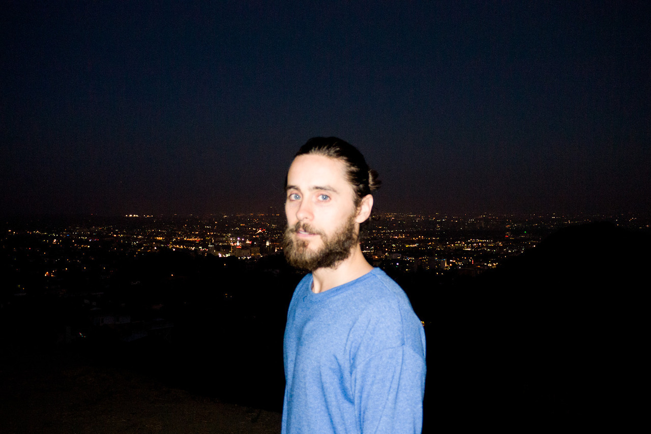 terrysdiary:  Jared Leto in Runyon Canyon #1