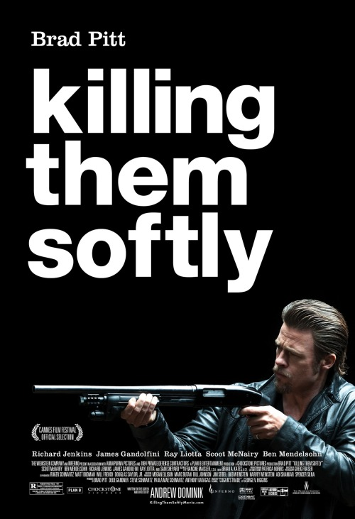 'Killing Them Softly' Poster: Brad Pitt, A Leather Jacket And A Shotgun