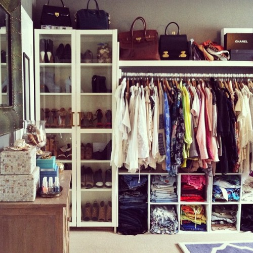 pulitzerprincess:  This closet, omg