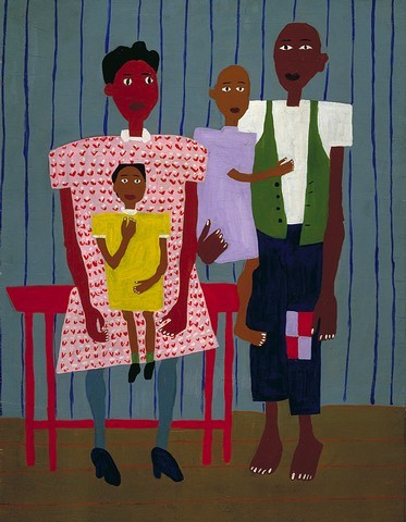 always adoring the work of william h. johnson.