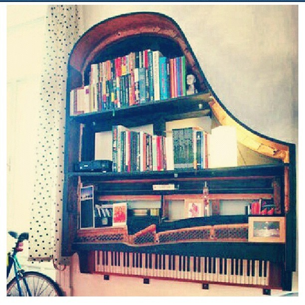 I want this book shelf  (Taken with Instagram)